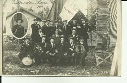 74 - Haute Savoie - Sallanches - Carte Photo Des Conscrits 1913 - Cliché Pris Dans Une Scierie - Bois - Beau Plan - - Sallanches