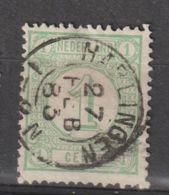 Nederland 1876  NVPH Nr. 31  Met Stempel Harlingen - Usados