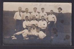 Foto Ansichtskarte Fußball Sport Kiel 31.12.1905  - Deutschland