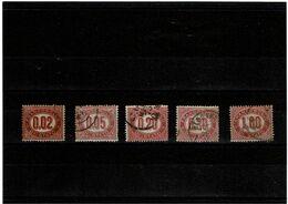LRD11 - ITALIE REGNE VE II SERVIZIO DU 2c A 1L OBL. - 1861-78 Vittorio Emanuele II