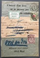 France N°108 Sur Bande De Journal 1907, Taxe Suisse - (C1418) - 1877-1920: Semi-moderne Periode