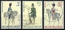 België 2031/33 - Rijkswacht - Karabiniers - Gidsen - Gendarmerie - O - Used - Used Stamps