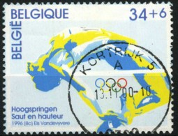 België 2648 - Sport - Olympische Spelen - Hoogspringen - Saut En Hauteur - O - Used - Used Stamps