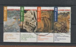 Nederland  2001 NVPH Nr. 1975+1977+1979+1981  Strip Van 4  Gebruikt Used. - Usados
