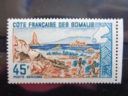 COTE FRANCAISE DES SOMALIS 1965 Y&T N° 43  ** - SITE - Französich-Somaliküste (1894-1967)
