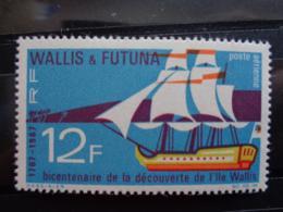 WALLIS ET FUTUNA 1967  Y&T N° 31 ** - BICENTENAIRE DE LA DECOUVERTE DE L'ILE DE WALLIS - Wallis And Futuna