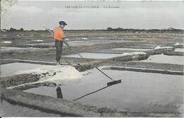 85 Les-Sables-d'Olonne - Un Paludier Animée & Colorisée 1907-05-15 TB - Sables D'Olonne