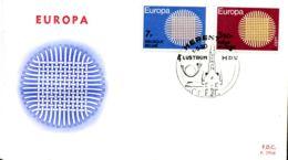 - 1530/31 - FDC - Europa - 1961-70