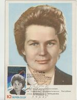 URSS Carte Maximum 1963 V Terechkova 2693 - Tarjetas Máxima