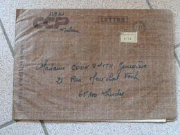 Lettre Chargée Des CCP Toulouse 1981 Avec 5 Cachets De Cire Cheques Postaux Toulouse - 1961-....