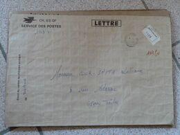 Lettre Chargée Des CCP Toulouse 1977 Avec 5 Cachets De Cire Cheques Postaux Toulouse - 1961-....