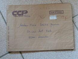 Lettre Chargée Des CCP Toulouse 1983 Avec 3 Cachets De Cire Cheques Postaux Toulouse - 1961-....