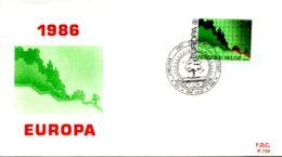 - 2212 - FDC - Europa - 1981-90