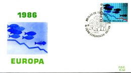- 2211 - FDC - Europa - 1981-90