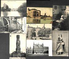 Brugge Bruges - Petit Lot 8 Cartes (animatie Zie Scans) - Brugge