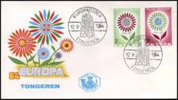 België - FDC - 1298/99  Europa CEPT 1964 - 1961-70