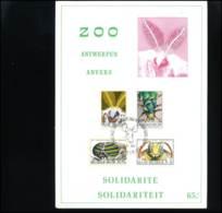 België - 1610/13  Insecten  -   Souvenir Kaart - Briefe U. Dokumente