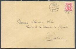 10 Centimes Rouge Obl. Dc BISSEN Sur Lettre Du 26-4-1913 Vers Diekirch - 15984 - 1906 Guillaume IV