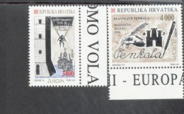 CEPT Entdeckungen / Erfindungen Kroatien 274 - 275  ** Postfrisch MNH - 1994