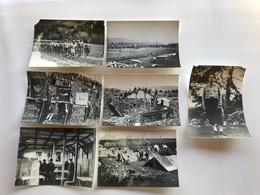 Lot 7 Photos CJF 25 Groupe Roland 1940-1945 - War, Military