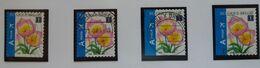 """Belgique COB N°3872 A,b,c  Oblitéré """" Fleur Tulipe """" - Ohne Zuordnung"""