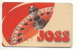 UKRAINE JOSS Casino Kyiv Plastic Card Not Valid - Casinokarten