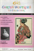 Revue : Cartes Postales Et Collection  N: 119  Janvier - Février 1988 - Francese