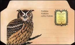 Finland  -  Postbrief  -  Uil - Postwaardestukken