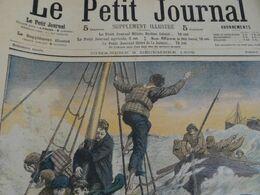 Le Petit Journal 1905 Le Naufrage Du Navire Hilda En Face De Saint Malo 35. Pierre Nissen Victime Pole Nord - Non Classés