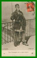 Illustration SCOTT - Tout Français Est à Son Poste - Garde Des Voies Ferrées - Militaire Du 27 R.I. - Edit. A.N. - 1914 - Patriotic