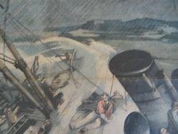 Le Petit Journal 1905 Le Naufrage Du Navire Hilda En Face De Saint Malo 35. Genneviliers Accident Usine à Gaz - Non Classés