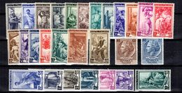 Italie YT N° 572/590, N° 684/685 Et N° 704A/709A Neufs *. B/TB. A Saisir! - 1946-.. République
