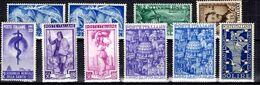 Italie Belle Petite Collection De Bonnes Valeurs Neufs * 1948/1955. B/TB. A Saisir! - 1946-60: Mint/hinged