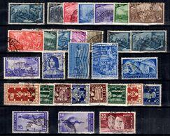 Italie Belle Petite Collection De Bonnes Valeurs Oblitérées 1948/1951. B/TB. A Saisir! - 1946-60: Afgestempeld
