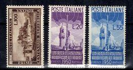 Italie YT N° 537 Et N° 561/562 Neufs *. B/TB. A Saisir! - 1946-60: Mint/hinged