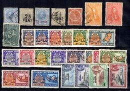 Curaçao Belle Petite Collection De Bonnes Valeurs 1873/1943. B/TB. A Saisir! - Curaçao, Antilles Neérlandaises, Aruba