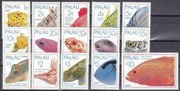 Palau 1995 - Mi.Nr. 840 - 854 - Postfrisch MNH - Tiere Animals Fische Fishes - Fishes
