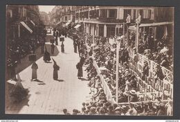 CPA - Espana / Spain, MALAGA, Semana Santa,  Desfile De Cofradias Por La Plazza De La Constitucion - Málaga