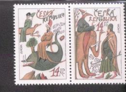 CEPT Entdeckungen / Erfindungen Tschechische Republik 36 - 37  ** Postfrisch MNH - 1994