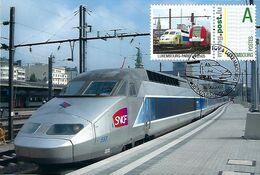 Luxembourg - Maximumkarten 2007 -  LUXEMBOURG - PARIS à 2h05 - Tarjetas Máxima