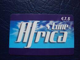 Carte Prépayée : Africa :tone 7,5e - France