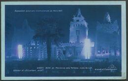Exposition Coloniale Internationale Paris 1931 - La Nuit - AOF Fontaines Des Totems - Edit. Braun & Cie N°2407f - Mostre