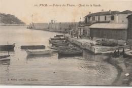 R21-06) NICE - POINTE DU PHARE QUAI DE LA SANTE  - (ANIMEE - BATEAUX - 2 SCANS) - Schiffahrt - Hafen