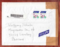 Grossbrief, Fahrrad, Kedichem Nach Leonberg 2009 (97283) - Storia Postale