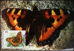 2506 - MK - Vlinders : Aglais Urticae - 1991-2000