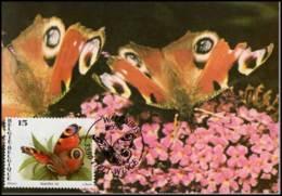 2505 - MK - Vlinders : Inachis Io - 1991-2000