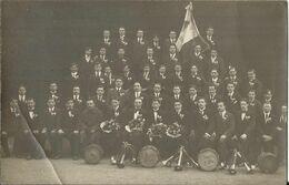 - 69 - Tarare: Carte-photo De Conscrits Classe 1919 (voir Drapeau + Tonneau Classe 1919) - Tarare