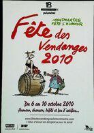 Illustration Claire Bretecher    Fête Des Vendanges 2010  Montmartre - Andere Illustrators