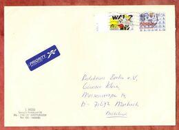 Grossbrief, Kuh Sk U.a., Haarlem Nach Marbach 1999 (97285) - Storia Postale