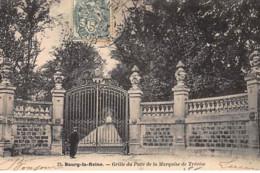 BOURG LA REINE : Grille Du Parc De La Marquise De Trévise - Très Bon état - Bourg La Reine